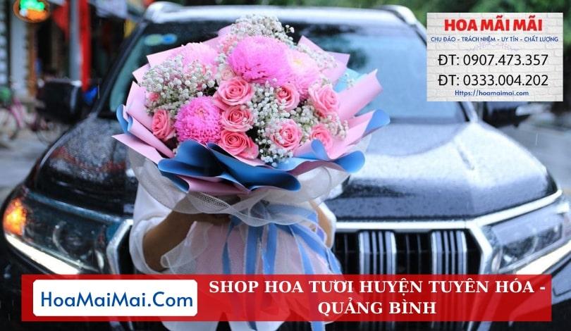 Shop Hoa Tươi Huyện Tuyên Hóa - Điện Hoa Quảng Bình