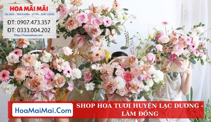 Shop Hoa Tươi Huyện Lạc Dương - Điện Hoa Lâm Đồng