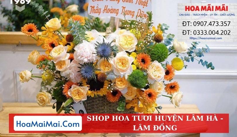 Shop Hoa Tươi Huyện Lâm Hà - Điện Hoa Lâm Đồng