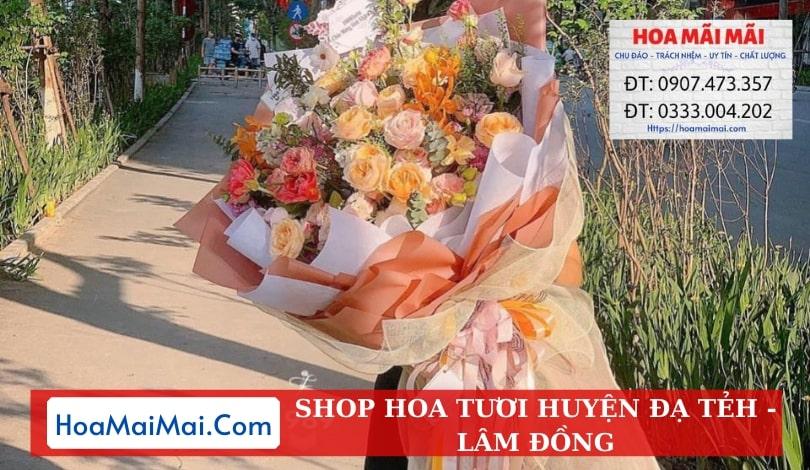 Shop Hoa Tươi Huyện Đạ Tẻh - Điện Hoa Lâm Đồng