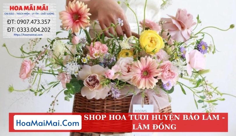 Shop Hoa Tươi Huyện Bảo Lâm - Điện Hoa Lâm Đồng