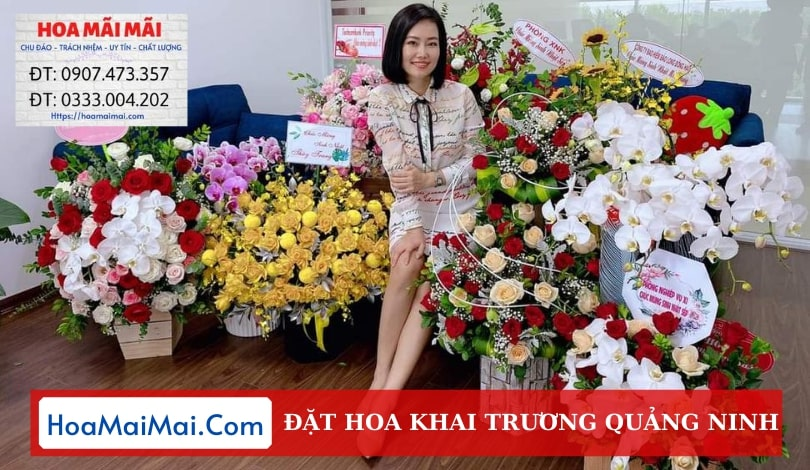 Đặt Hoa Khai Trương Quảng Ninh - Điện Hoa Quảng Ninh