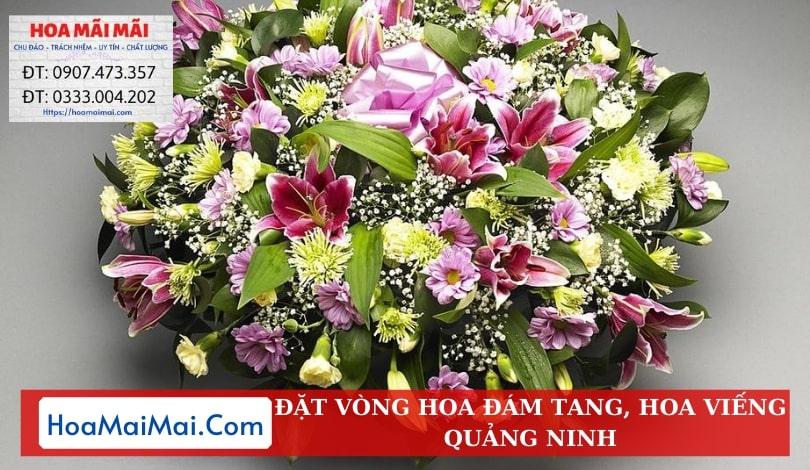 Đặt Vòng Hoa Đám Tang, Hoa Viếng Quảng Ninh - Điện Hoa Quảng Ninh