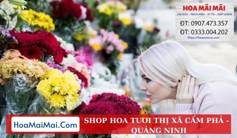 Shop Hoa Tươi Thị Xã Cẩm Phả - Điện Hoa Quảng Ninh