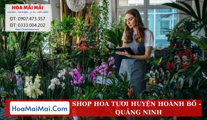 Shop Hoa Tươi Huyện Hoành Bồ - Điện Hoa Quảng Ninh