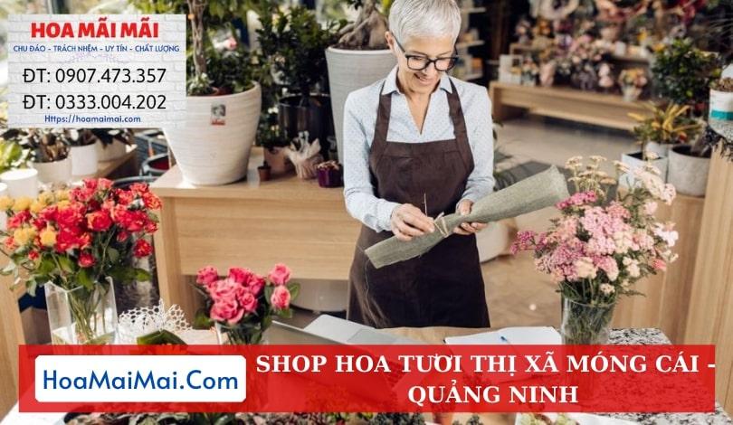 Shop Hoa Tươi Thị Xã Móng Cái - Điện Hoa Quảng Ninh