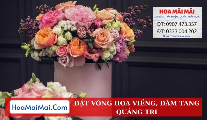 Đặt Vòng Hoa Đám Tang, Hoa Viếng Quảng Trị - Điện Hoa Quảng Trị