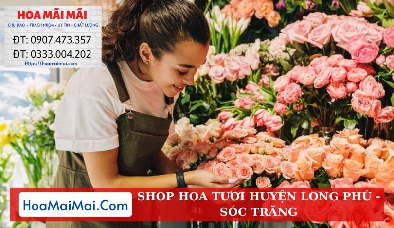 Shop Hoa Tươi Huyện Long Phú - Điện Hoa Sóc Trăng