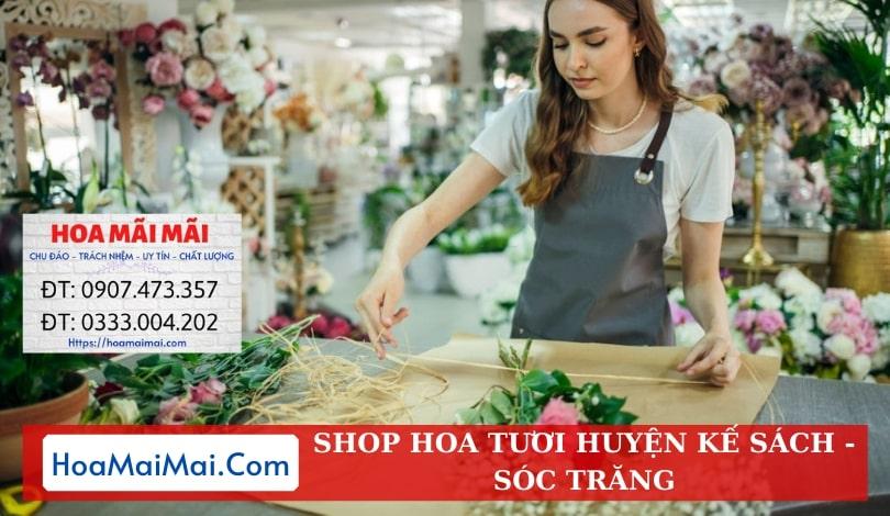 Shop Hoa Tươi Huyện Kế Sách - Điện Hoa Sóc Trăng