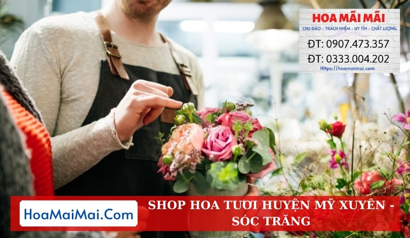 Shop Hoa Tươi Huyện Mỹ Xuyên - Điện Hoa Sóc Trăng