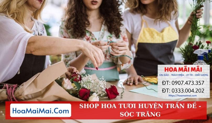 Shop Hoa Tươi Huyện Trần Đề - Điện Hoa Sóc Trăng