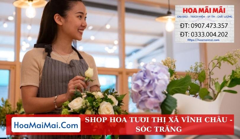Shop Hoa Tươi Thị Xã Vĩnh Châu - Điện Hoa Sóc Trăng