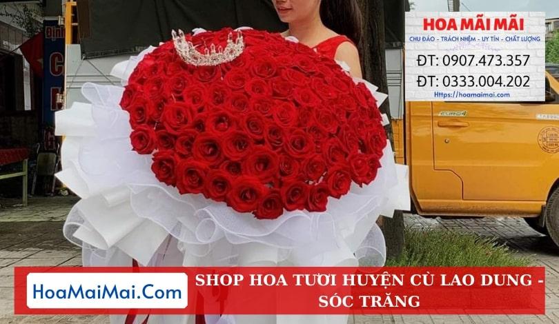 Shop Hoa Tươi Huyện Cù Lao Dung - Điện Hoa Sóc Trăng