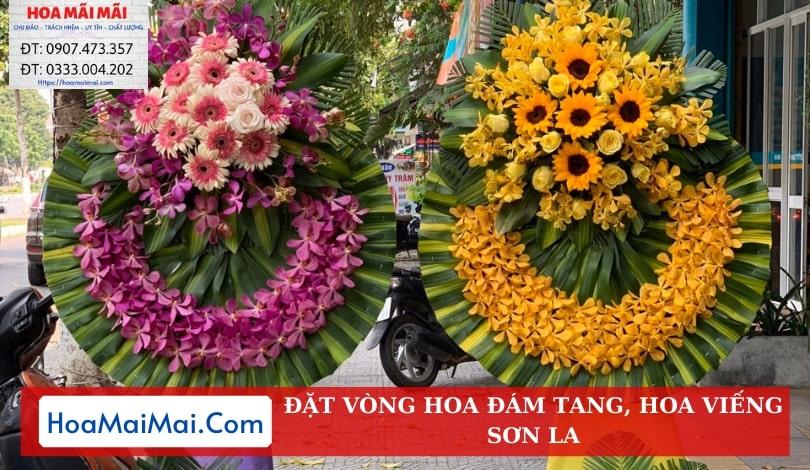 Đặt Vòng Hoa Đám Tang, Hoa Viếng Sơn La - Điện Hoa Sơn La