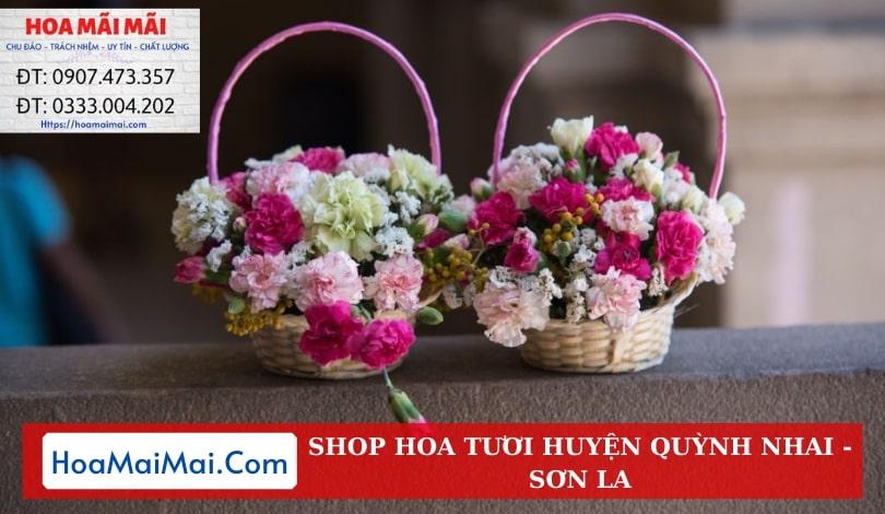 Shop Hoa Tươi Huyện Quỳnh Nhai - Điện Hoa Sơn La