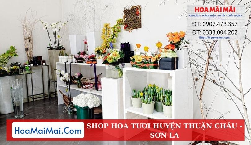 Shop Hoa Tươi Huyện Thuận Châu - Điện Hoa Sơn La