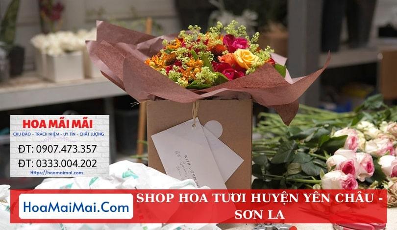Shop Hoa Tươi Huyện Yên Châu - Điện Hoa Sơn La
