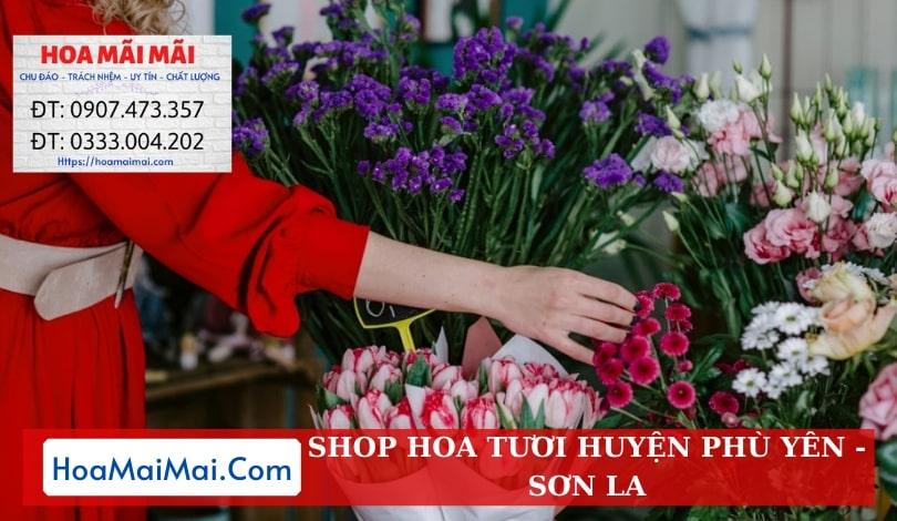 Shop Hoa Tươi Huyện Phù Yên - Điện Hoa Sơn La