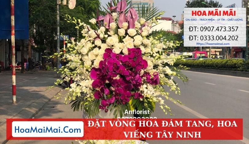 Đặt Vòng Hoa Đám Tang, Hoa Viếng Tây Ninh - Điện Hoa Tây Ninh