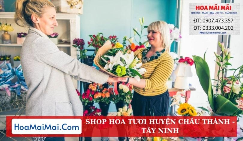 Shop Hoa Tươi Huyện Châu Thành - Điện Hoa Tây Ninh