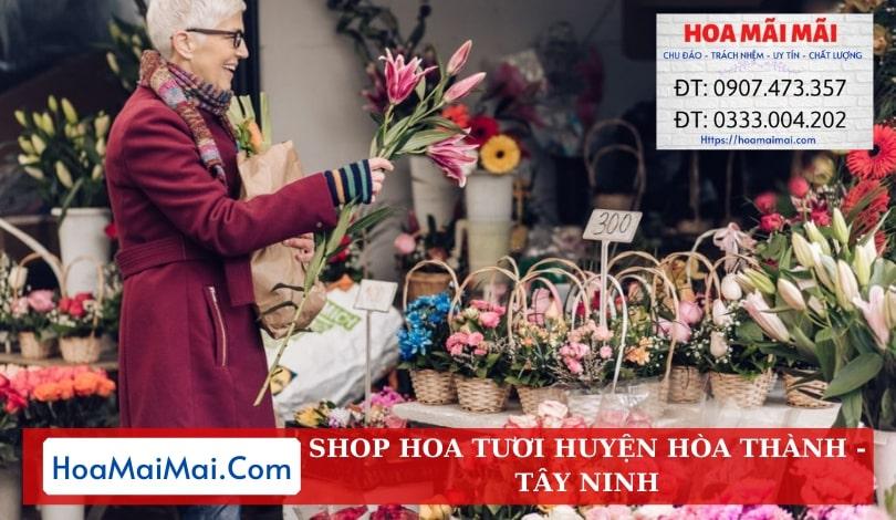 Shop Hoa Tươi Huyện Hoà Thành - Điện Hoa Tây Ninh