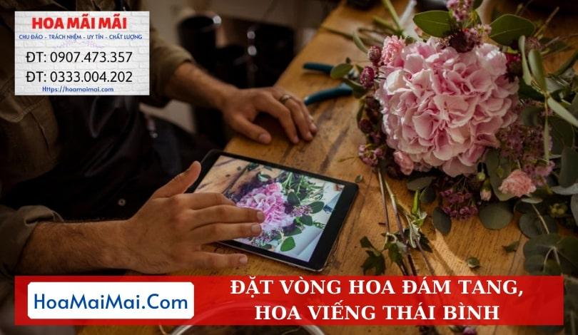 Đặt Vòng Hoa Đám Tang, Hoa Viếng Thái Bình - Điện Hoa Thái Bình
