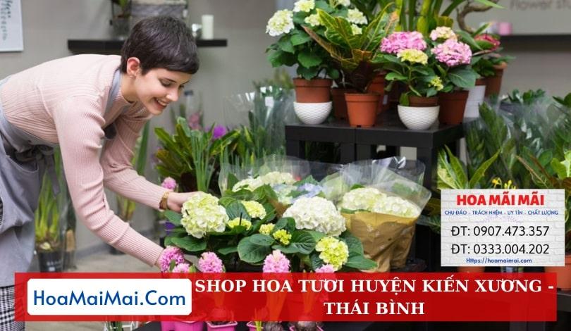 Shop Hoa Tươi Huyện Kiến Xương - Điện Hoa Thái Bình