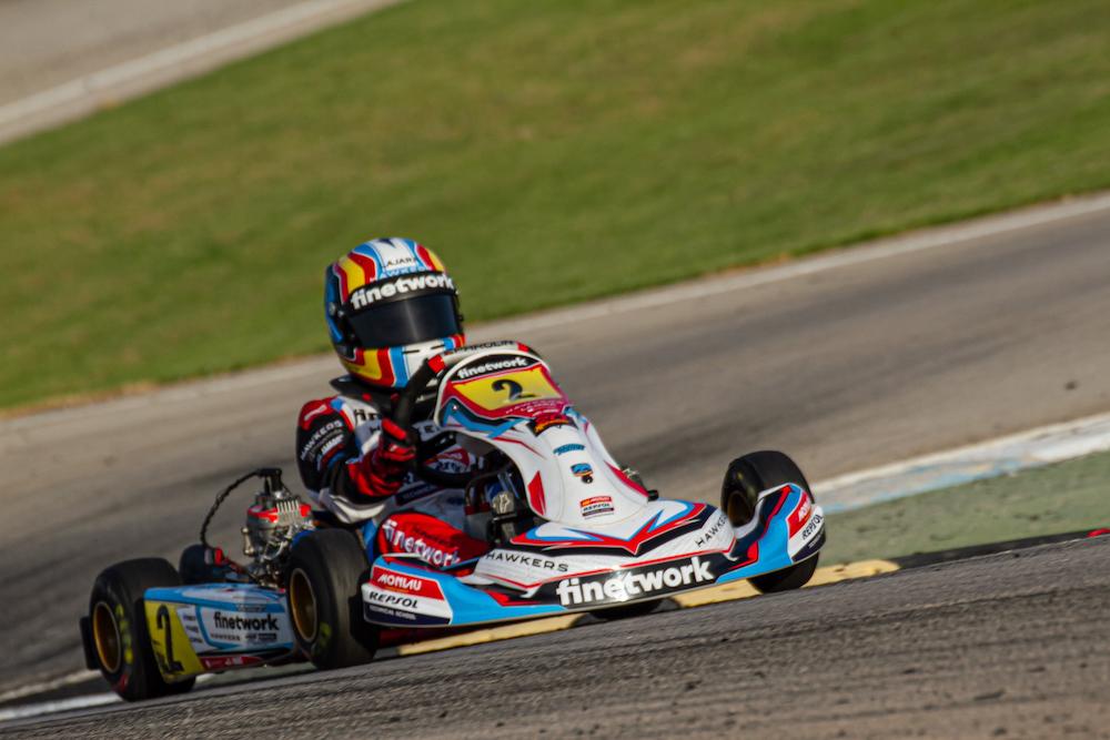 Sandro Pérez logra una 1ª y 2ª posición en Albaida