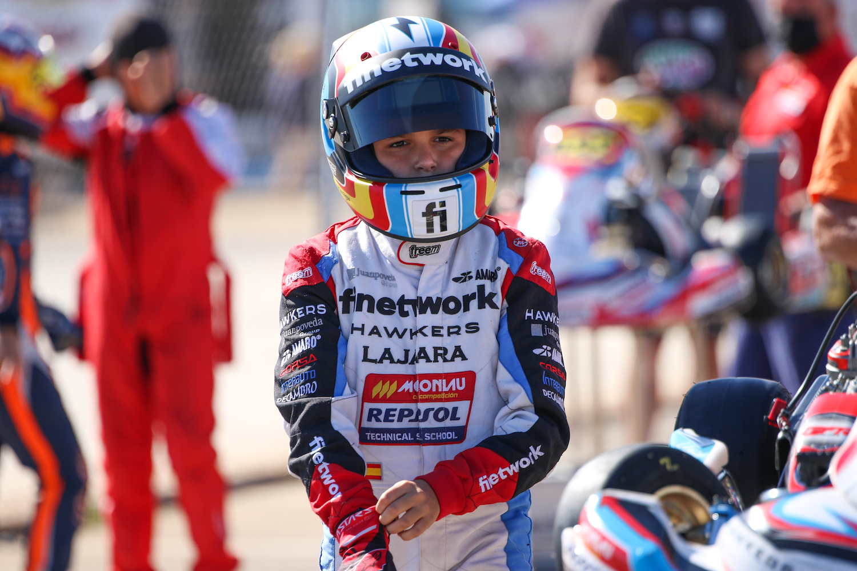 Sandro Pérez afronta la primera de seis semanas de competición consecutivas