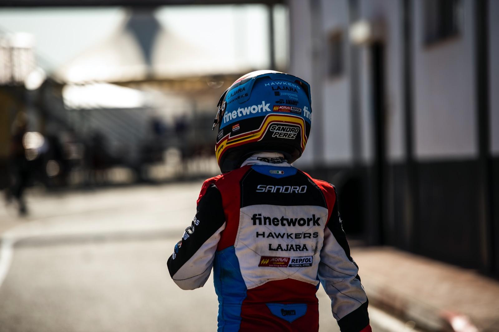 Sandro arranca con un podio la primera carrera del CEK