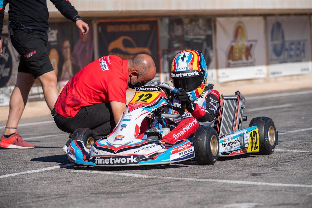 Sandro afronta la segunda prueba del Campeonato de España de Karting