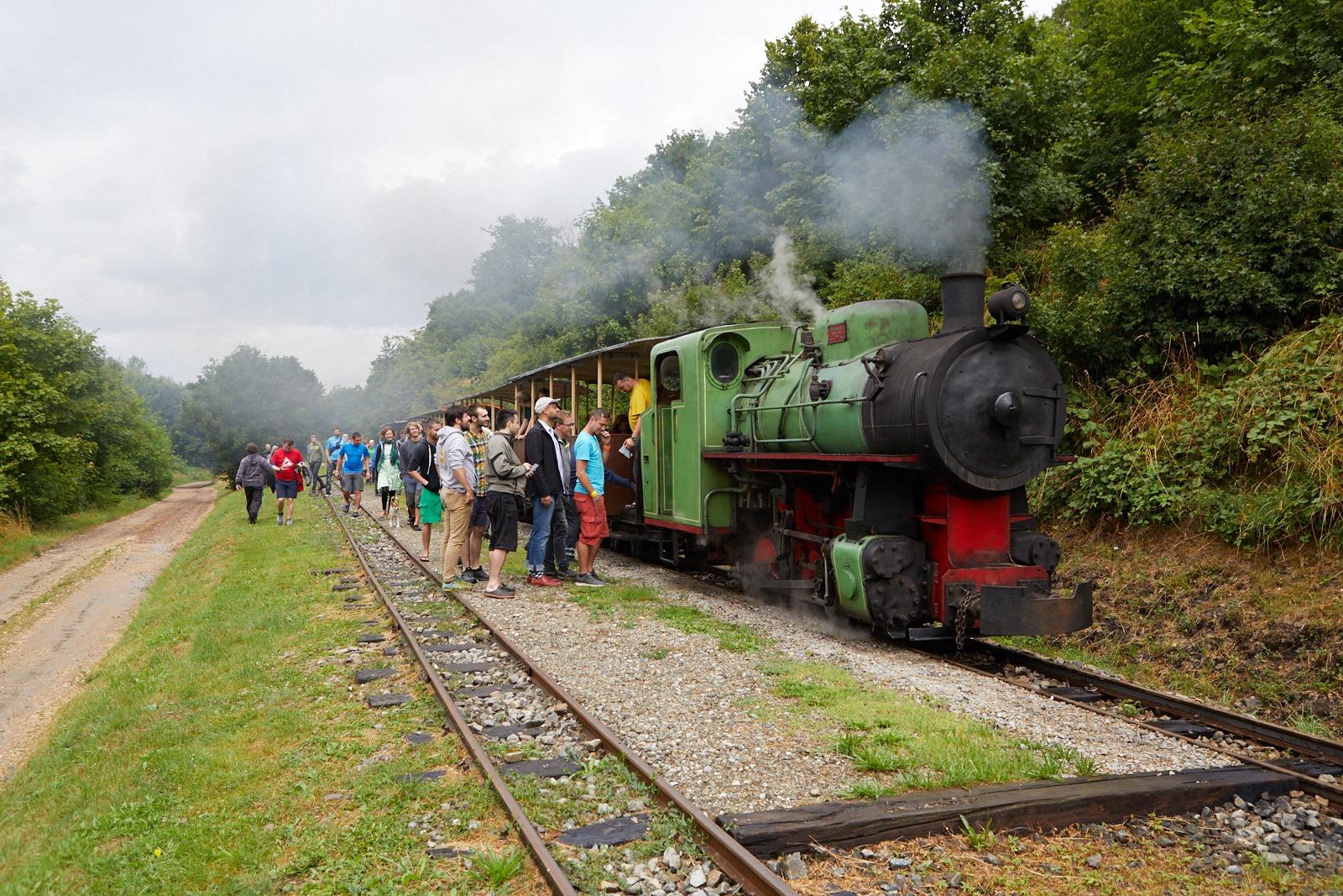 parni vlak vlakfest