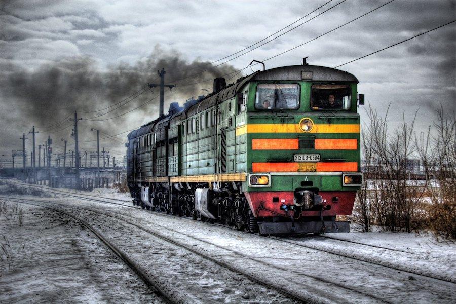 vlak silvestr express ukrajina