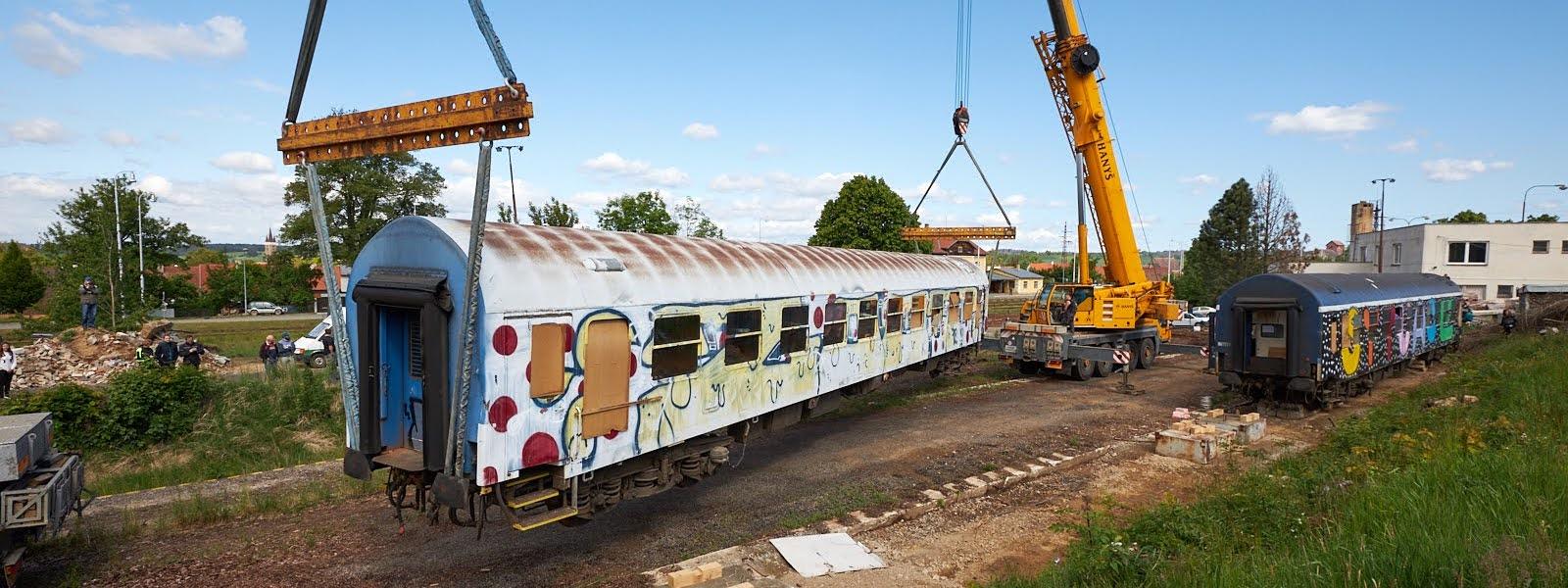 vlakfest lehatkove vozy lokomotiva prasatko