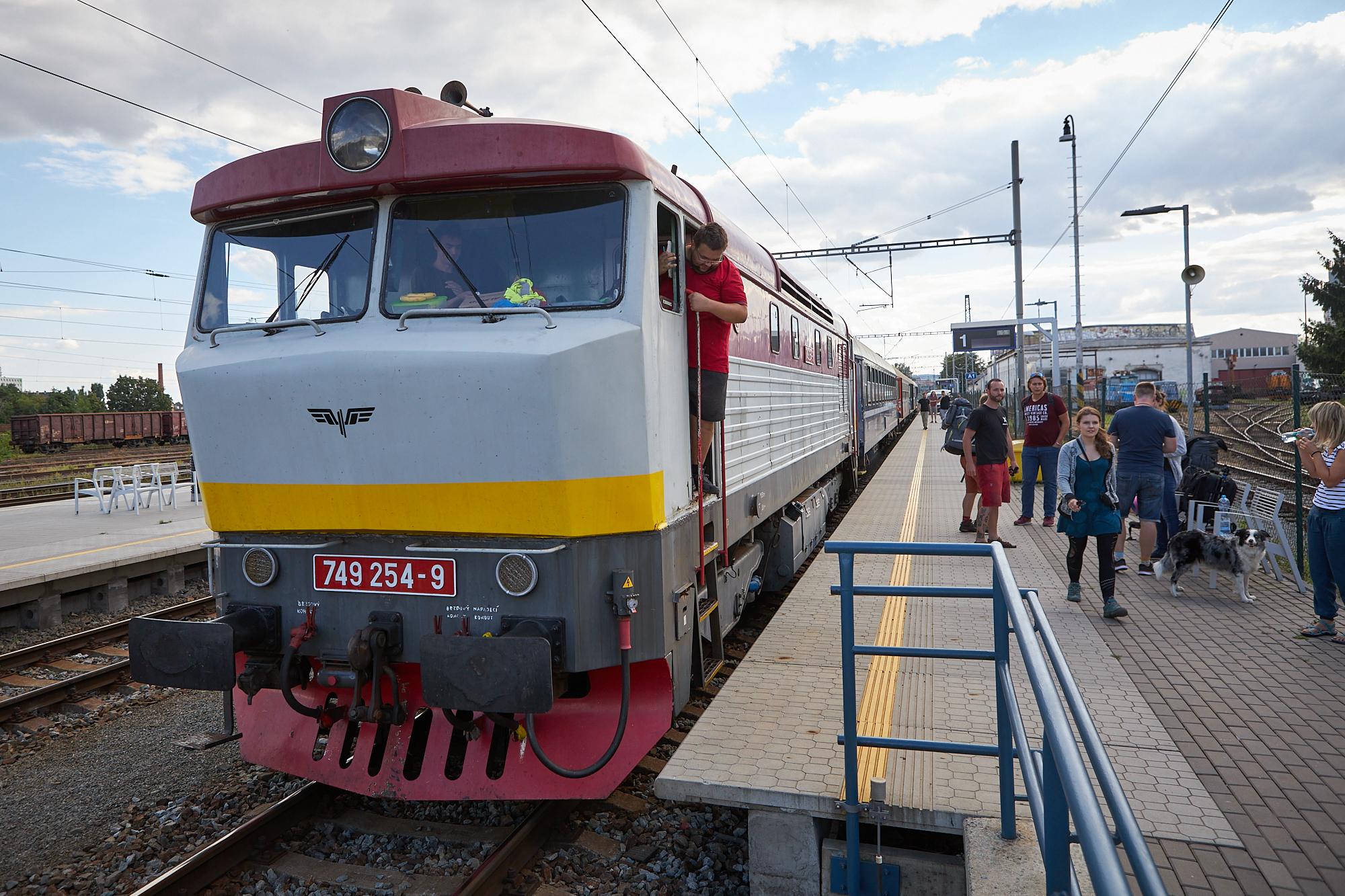 ziwell express lokomotiva