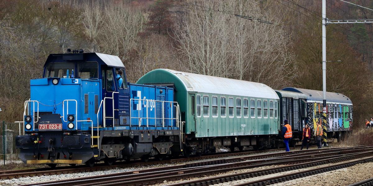 brigáda železniční úderka vlakfest