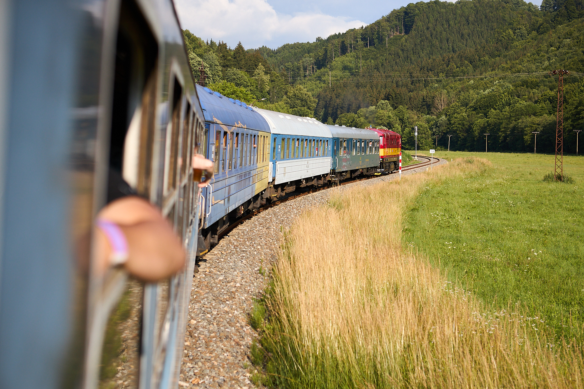 vlak do neznama