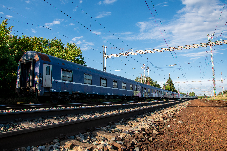 Azylový vlak Vlakfest po tornádu