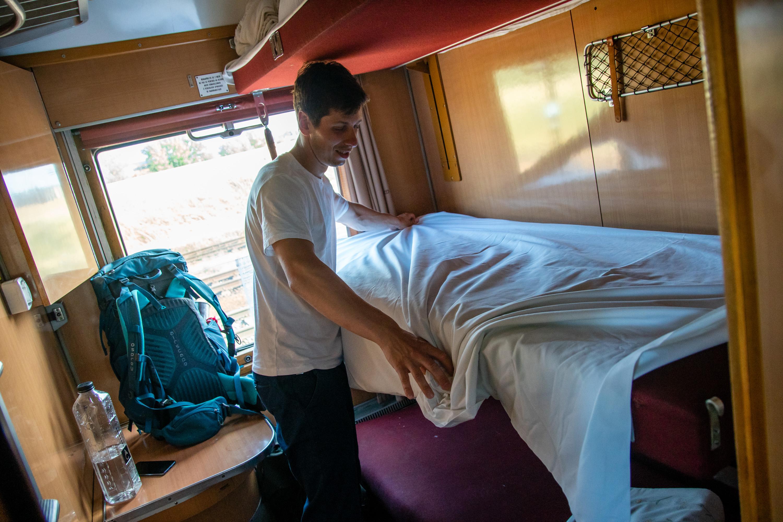 Azylový vlak lůžka