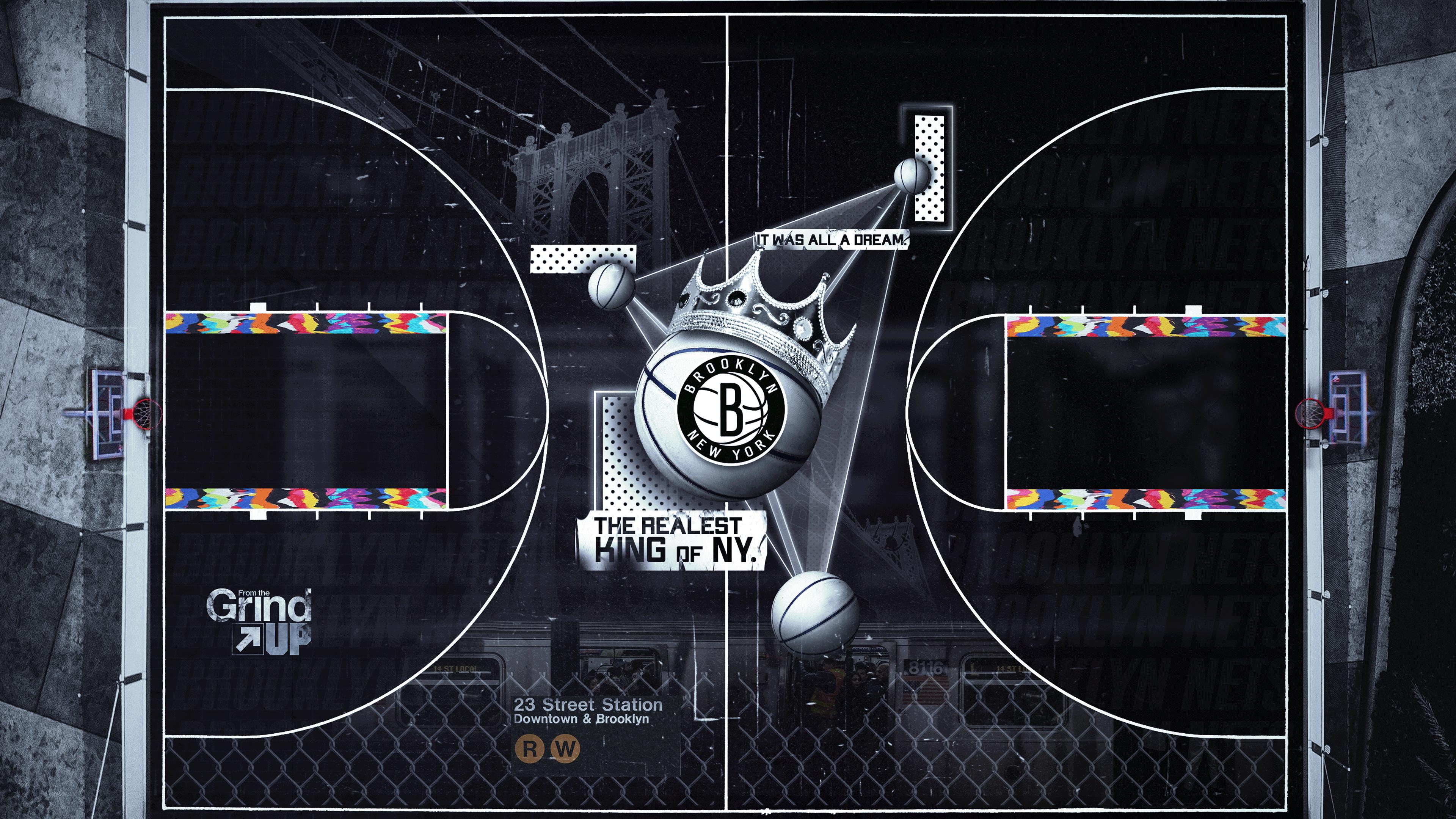Brooklyn Nets outdoors court
