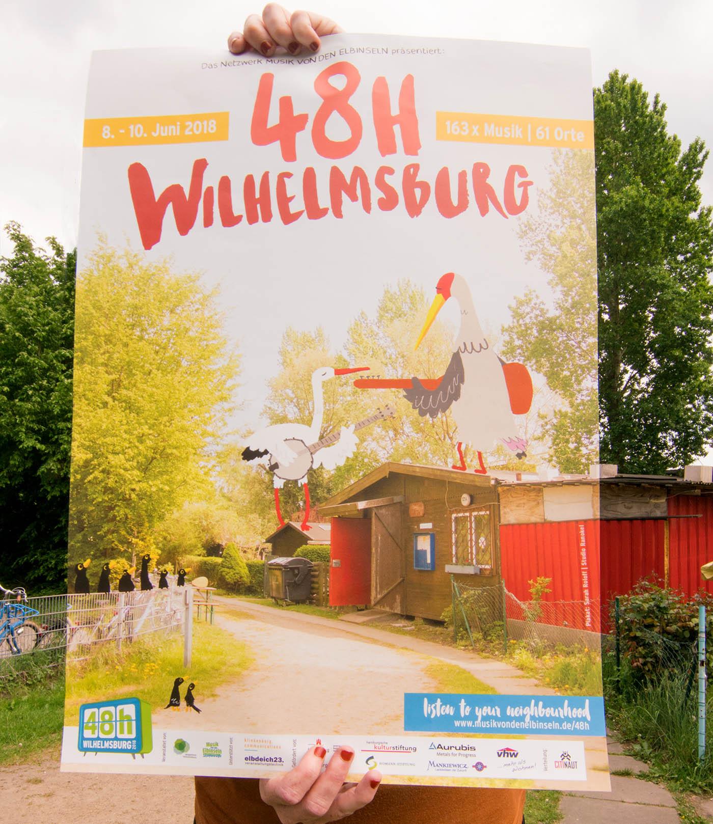 Eins unserer zahlreichen Projekte: 48h Wilhelmsburg