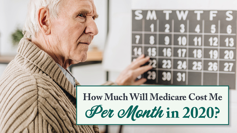 How Much Will Medicare Cost Me Per Month In 2020?