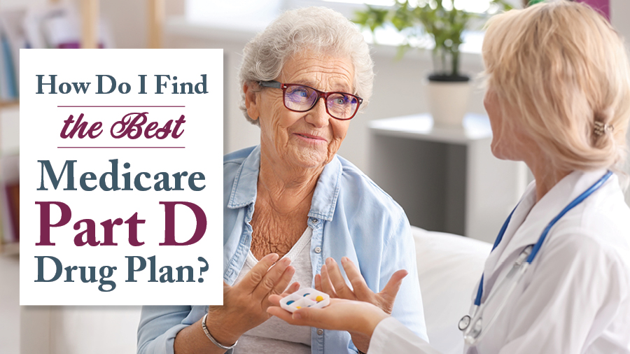 How Do I Find the Best Medicare Part D Drug Plan?