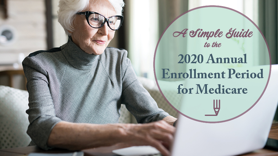 A Simple Guide to the 2020 Annual Enrollment Period for Medicare