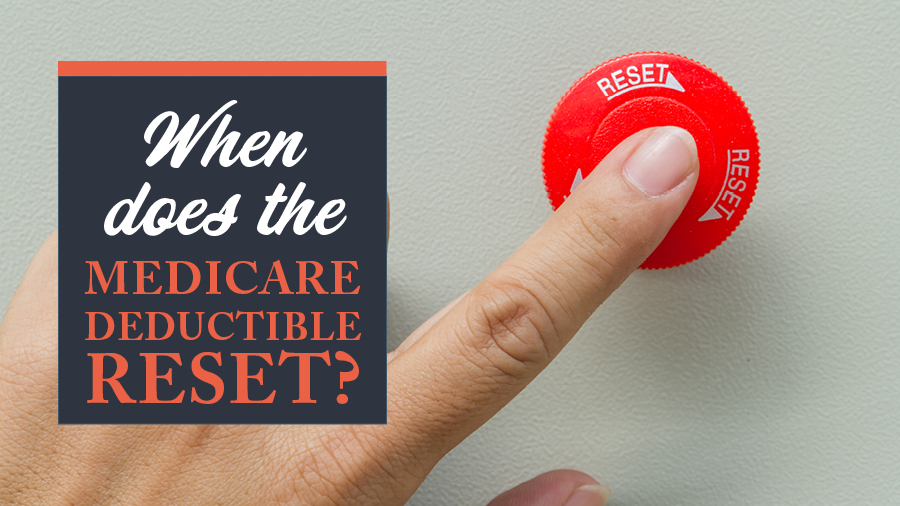 When Does the Medicare Deductible Reset?
