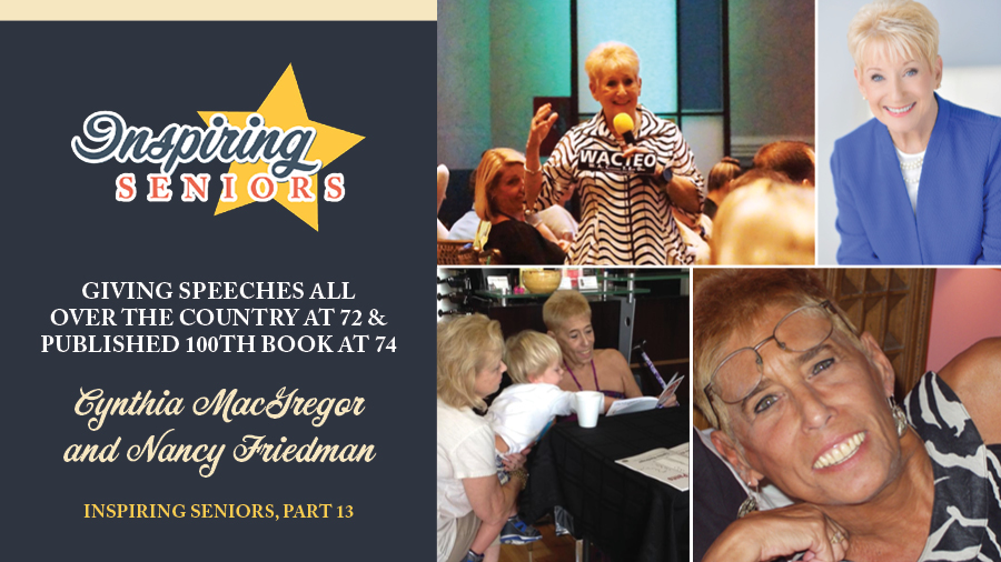 Giving Speeches All Over the Country at 72 & Published 100th Book at 74 | Inspiring Seniors, Part 13