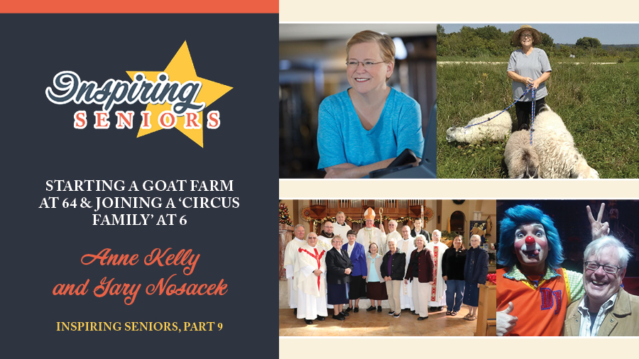 Starting a Goat Farm at 64 & Joining a 'Circus Family' at 63 | Inspiring Seniors, Part 9