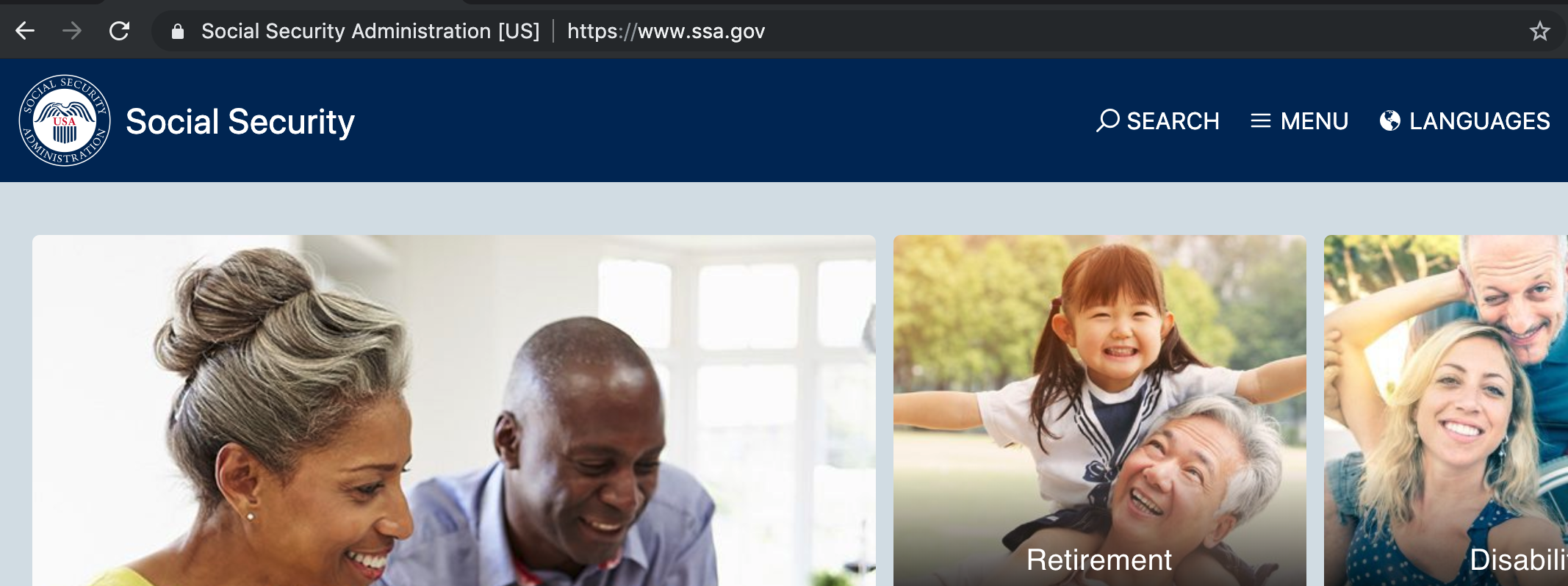 Signing Up for Medicare on SSA.gov