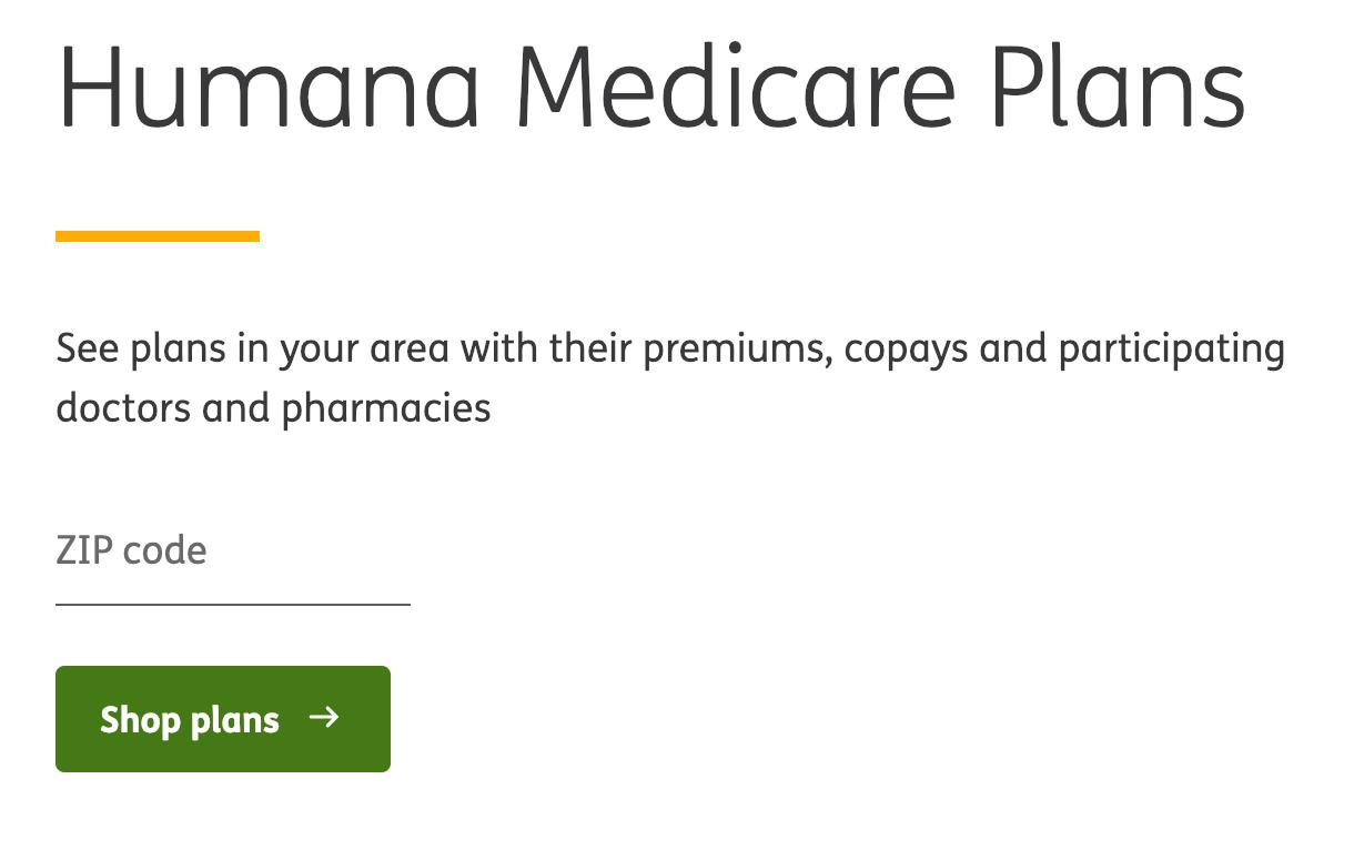 Humana Medicare Advantage Plans