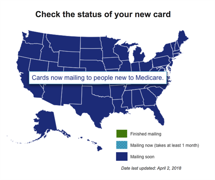New medicare cards 2018